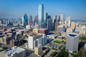 Dallas Texas Skyline — HomeVestors Expo Event