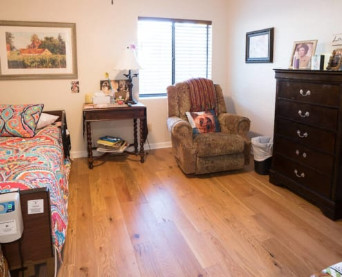 Residential Assisted Living Academy bedroom