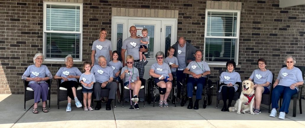 Residential Assisted Living Home Group Shot, Business